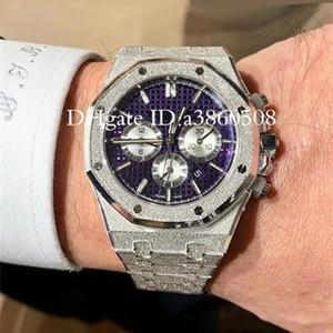 de Moda Relógios Hot fosco Men relógio de ouro Stanless aço de alta qualidade VK Chronograph Movimento Quartz Sports Homens Relógios, montre de luxe
