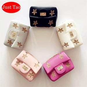 Sadece Tao! Düşük fiyat! Yeni Hediye Çocuk Bebek kız Küçük Yıldız Çanta Bebekler Mini Coin Çanta Küçük Çocuk Moda Çanta Yılbaşı hediyesi JT007