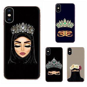 Tarjetero iphone Muslim Islamic Gril Eyes For Huawei Nova 2 V20 Y3II Y5 Y5II Y6 Y6II Y7 Y9 G9 GR3 GX8 Prime 2018 2019 Soft Phone
