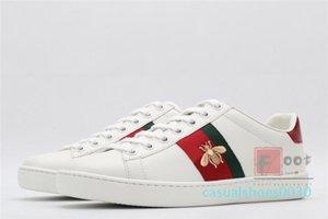 2020 Chaussures Noir Blanc Rouge Chaussures Casual en cuir ACE Chaussures de sport pour hommes, femmes Christmas Star Serpent Tigre plat Bas Formateurs Chaussures de c30