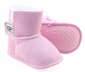 2019 Winter klassische Kleinkind Stiefel Baby Kleinkind Schuhe männlich Baby weiblich Baby bequeme warme Stiefel 0-18