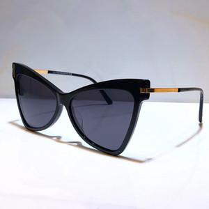 Neue Mode designer Sonnenbrille 767 Platte charming cat eye Goggle Rahmen charming Stil Adumbral top Qualität UV-beständig 400 Gläser