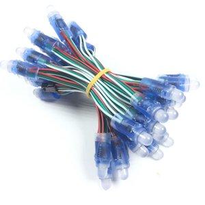 50pcs lot 12mm WS2811 Full Color LED Pixel Module DC 5V Waterproof IP68 RGB color 2811 IC Digital LED christmas