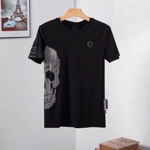 Marque d'homme T-shirt PP concepteur d'impression grue d'été T-shirt hip-hop taille T-shirt à manches courtes de la mode des femmes des hommes