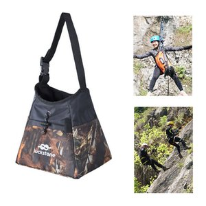 High Quality Oxford cloth Waterproof Climbing Bag Practical Outdoor Weight Lifting Boulder Magnesium Bag Climbing Equipment