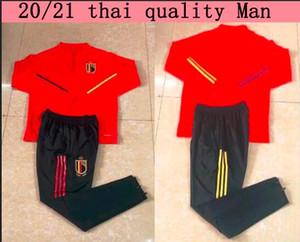 2019 2020 Бельгия обучение взрослых футбол пиджак 19/20 E.HAZARD футбол chandal футбол набор костюм