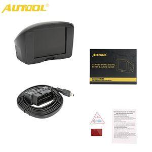 Autool X50 Plus Car OBD HUD Smart Digital Meter Alarm Speed Water TEMP Head Up Display