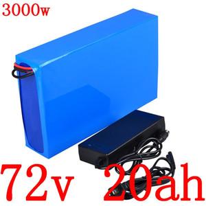 72V 20AH 72 Lithiumionen-Batterie 2000V 3000W Elektroroller 72V 20AH Lithiumbatterie elektrische Fahrradbatterie mit Lade
