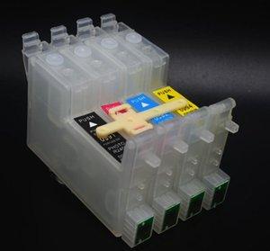5 set / Lot, U modèle T0601 T0602 T0603 T0604 cartouches d'encre CISS pour imprimante Epson C88 C68 CX3800 etc pièces de bricolage CISS