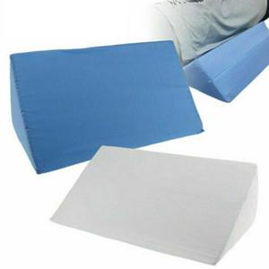 1PC Acid Reflux Foam Bed Wedge Pillow Leg Elevation Back Lumbar Support Cushions 50x25x15cm Waist support pad orthopedic pillow