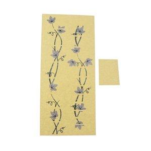 Chitarra Fretboard Nota decalcomanie, modello di fiore