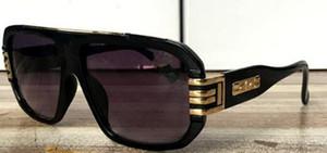 5PCS Fashion Street óculos homens marca Designer Unisex Metal Ouro Chassis Masculino Óculos Qualidade Gradiente óculos de sol para as mulheres de cor 4