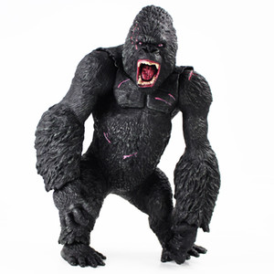 wholesale Arrival 35cm King Kong Figure Toys Big Size Hand Movable Figurine PVC Action Figure Collection Model Doll