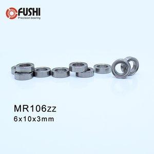 MR106ZZ ABEC-1 (100 STÜCKE) 6X10X3mm Miniatur Kugellager MR106ZZ