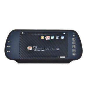 Adeeing Bluetooth Rear View Monitor de Espelho e Multimedia MP4 Player - 7 polegadas Viva-voz Bluetooth espelho retrovisor RNO carro