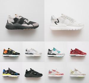 Les originaux 2019 Nite Jogger 3M Walker hommes de nuit mode casual et les femmes des chaussures de course ZX500 chaussures de sport lumineux avec boîte