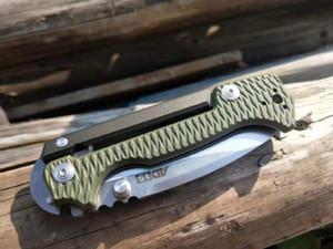 Top-Qualität OEM Cold Steel AD-15-Überleben-taktische faltendes Messer S35VN Satin-Messerklinge G10 + T6061 Griff Messer