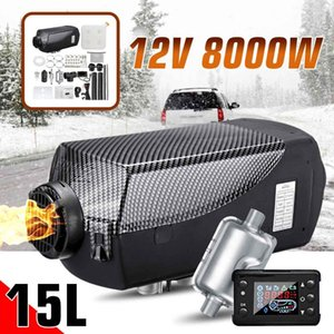 Car Heater 8KW 12V Air Diesels Heater Parking With 15L Tank +LCD Switch + For Trucks Trailer Motorhomes Boats Bus