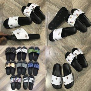 De mujeres Dener piel del deslizador de las chancletas de Dener piel niñas niños Zapatillas Fasion Dener mujeres Soes O Yea mujeres Soes sandalias # 634 # 502