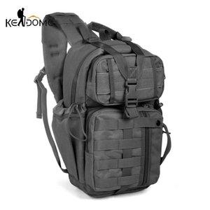 Borse all'aperto 20L Impermeabile imballaggio impermeabile Tactical Zaino Assault Borsa Assalto Army Zaino Multifunzione Camping Caccia X161D