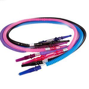 Peso acrílico Hokkah Escalabilidad Muti color cachimba Flexible plástico del tubo de agua accesorios de fumar caliente Venta Nueva Luz 4 5kq C2