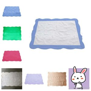 new 23color INS Baby Blanket Toddler Embroidered Blankets Infant Ruffle Quilt Swaddling Breathable Air Conditioning Blanket