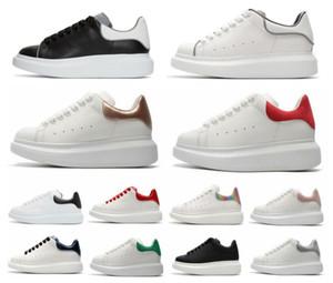 Itália 2020 New Chaussure frete grátis Sneakers Platform Trainers Com Box 3M reflexivo Casual Shoes Homens Mulheres Moda Ouro Parte sapato