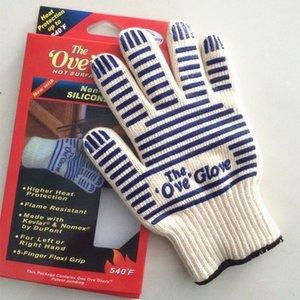 O Ove Glove Microondas Luva 540 F prova de calor resistente Cozinhar à prova de calor Forno Mitt Luva Superfície quente Handler