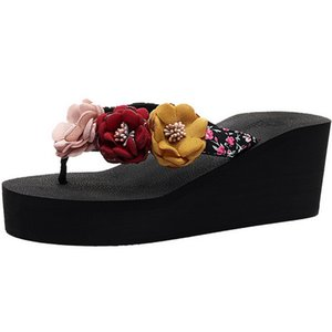 Litthing Slippers Summer Woman's Flip-Flops With White Diamond Rhinestones Slippers Women Sandals Summer Shoes 2020