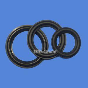 "2pcs 2"" 2.25"" 2.5"" 2.75"" 3"" inch Speaker Rubber Edge Subwoofer Surround Circle Repair Parts"