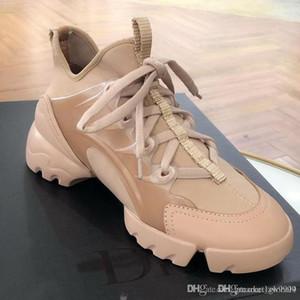 جديد D-CONNECT حذاء مصمم أحذية الفاخرة السيدات أحذية رياضية KCK222NGG_S10W _S12U _S900 أعلى جودة مثالية حجم الحرف 35-40 مع مربع