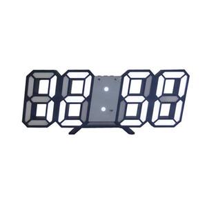 3D Grande Orologio da parete del LED Digital Data Ora Celsius Nightlight Visualizzazione Tabella Tavolo Orologi sveglia Per la casa Soggiorno