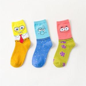 2020 Cartoon Designer Socks Uomo Donna Calze adolescente bello Cartoni Fumetti Socks 3 disegni per adulti e bambini calzino di trasporto