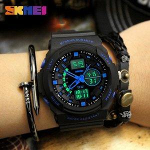 SKMEI Outdoor Sport Kids Watches 5bar Waterproof Shock Resistant Watch Multifunction Children Wristwatches montre enfant 0955