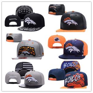 Snapbacks Bola Hat Fashion Street Headwear tampas amante do futebol personalizado futebol de beisebol de qualidade superior Denver B r o n c o s
