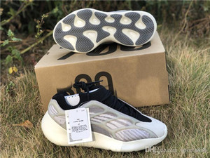 2019 Top Authentic Originals 700 V3 Azael Black White 3M Reflective Kanye West Men Women Running Shoes Sports Sneakers EF9897 With Box