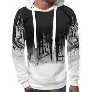 2019 Autumn Camouflage Printed Hoodies Men Streetwear Tracksuit Hooded Sweatshirts Male Casual Man hoodie Pullover Dropshipping Y200704