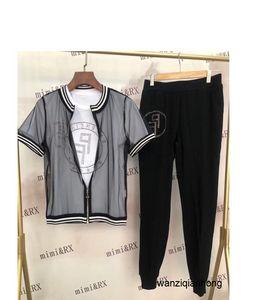 Takım elbise Harf Baskı Seksi Şort Beyzbol Suit Kadın Spor eşofman Koşu 040208 yazdır Serve