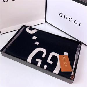 Moda-Klasik mektup tasarım stili sonbahar ve kış kalın marka eşarp şal gündelik zarif hareket yün atkı toptan olabilir