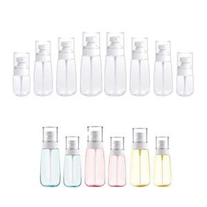 30ml 60ml 80ml 100ml plástico vazio spray frasco de perfume Água Pulverizador fino da névoa recarregáveis frascos de cosméticos contentores
