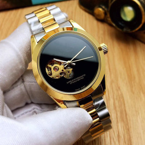 2020 New Fashion Watch High Quality Mens Gold Watches Stainless Steel Mechanical Automatic Vintage Casual Elegant Classic Wristwatch orologi