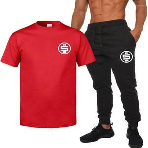 Diseñador del verano del Mens chándales camisetas Pantalones cortos 2pcs sistemas de la ropa los juegos de pantalones para hombre Nipsey Hussle