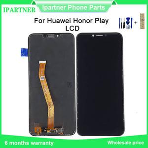 6.3 polegadas para Huawei Honor jogo LCD Screen Display sensor de toque Assembléia Digitizer substituição de tela com ferramentas 10pcs / lot