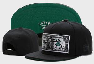 Cayler Sons Dolla Bill YAN gorras de béisbol huesos Casquettes Chapéu broche de presión detrás de Hip Hop Gorras Gorras sombreros del Snapback de los hombres
