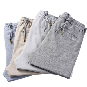 FAVOCENT Men's Smart Casual Pants 2020 Spring and Summer New Fashion High Quality Thin Slim Fitted Soft Classic Trousers