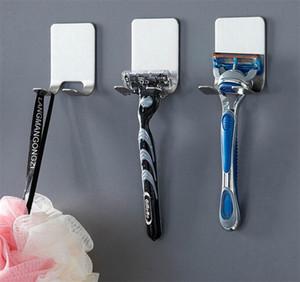 Paslanmaz çelik Jilet Tutucu Erkekler Tıraş Tıraş Raf Tıraş Bıçağı Raf Banyo Ev Viskon Duvar Hooks Askı