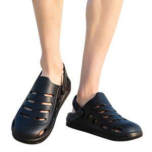 Vogue Men Sandals Summer Men Shoes Breathable Walking Beach Sports Slippers Outdoor men\x27s Shoes Soft bottom18Apl23