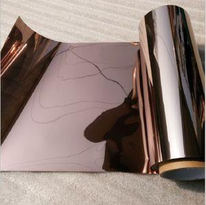 5m Longitud de té de plata Heat Control de cristal Película Una forma Perspectiva a prueba de agua que bloquea el sol de ahorro de energía extraíble de cristal Etiqueta