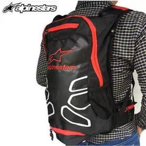 KTM Motosiklet Sırt Çantası Moto çantası Su geçirmez omuzlar Su torbası motokros yarış paket Seyahat çantaları yansıtıcı