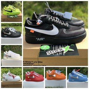 2020 New Low MCA University Blue nike 1s Dunk Utility Skateboard Casual Shoes High Cut Green Triples White black Wheat men women Sports sneakers